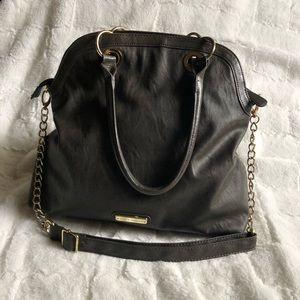 Steve Madden dark gray purse/bag